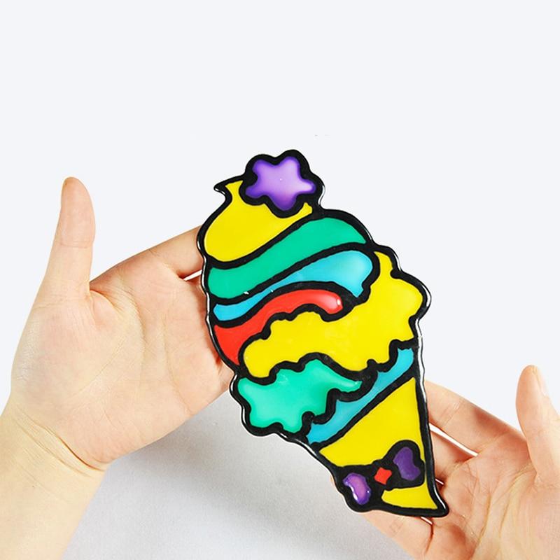 Diy Desenho Brinquedos Infantis Dos Desenhos Animados Cola Pintura A Tempera De Arte Do Jardim De Infancia Brinquedos Do Bebe Brinquedos Para As Criancas De Aniversario Da Crianca Brinquedos P Desenhar Aliexpress
