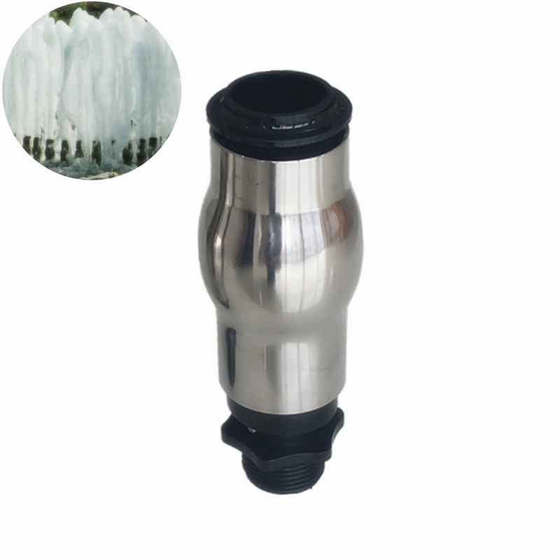 4Pcs DN25 1 Plastic Stainless Steel Frothy Fountain Nozzle Head For Garden Pond Pool