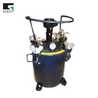 Auto automatische schilderen mixing roer druk pot tank vat spray agitator 20L/5.28 gallon met roestvrij innerlijke, door Fedex