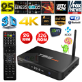 T95max Android TV CAIXA T95 MAX 2.4G 5G WiFi Amlogic S905x Android 6.0 Quad Core 2 GB/32 GB 4 K 3D media player PK X96 T95N