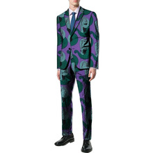 New arrivals African print men suits Ankara fashion Dashiki man blazer with pant 2 pieces for wedding africa clothing