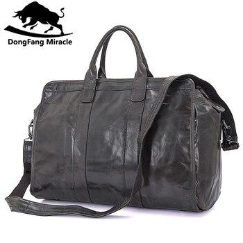 08a0131270231 Marka erkek vintage ekstra büyük seyahat çantası Paketi Büyük Kapasiteli  Taşınabilir Omuz deri spor çantası erkekler seyahat Çantaları