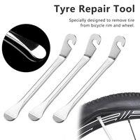 12 cm bicicletas de ciclismo aço roda pneu alavanca da bicicleta curva ferramenta reparo do pneu ganchos esportes e ao ar livre para pneu bicicleta|Pés de cabra|Ferramenta -