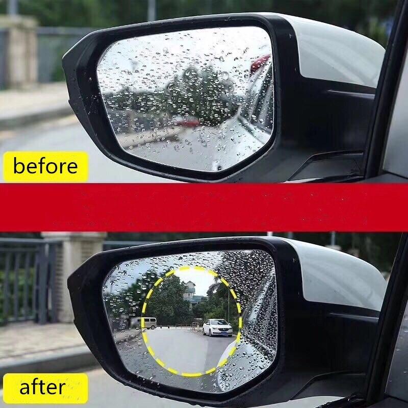 Osmrk universal HD filme resistente à água anti-nevoeiro óculos de proteção anti-chuva para Hyundai accent solaris, 4 pcs