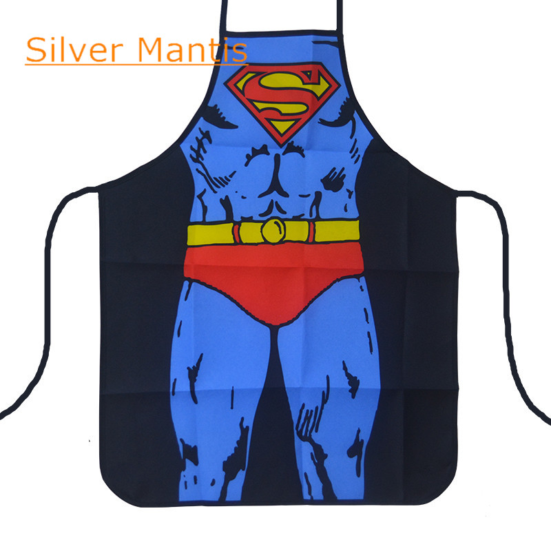 Sale 1 piece Kitchen Apron Printed Unisex Cooking Aprons Dining Room Barbecue Restaurant Pocket Halterneck AB0548S