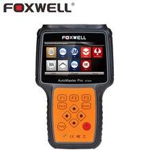 FOXWELL NT644 PRO Full Systeme Professionelle Automotive OBD2 Diagnosewerkzeug DPF Regeneration TPS Drosselklappensensor Reset