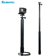 цена на Waterproof Selfie Stick With Mini Tripod for GoPro Hero Handheld Monopod for SJCAM Xiaoyi Action Camera Video Recording