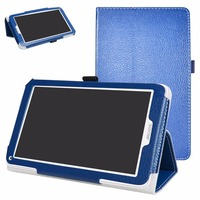 High Quality Tablet Case For 7 Archos 70C Neon PU Leather Folding Stand Cover With Magnetic