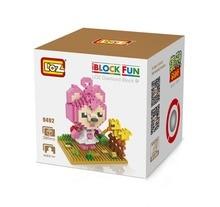 LOZ 9492 Chinese Original Animation Hans Peach FOX Diamond Bricks Minifigures Building Block Compatible with Legoe