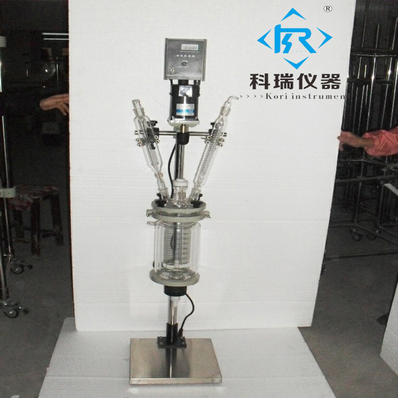 Laboratory Pharmaceutical Synthesis 3L Jacketed Crystallization ReactorLaboratory Pharmaceutical Synthesis 3L Jacketed Crystallization Reactor