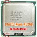 Perto de Core 2 Duo E8400 E8500 E8600 CPU Xeon X5260 Processador 3.33 GHz/6 MB/1333 MHz LGA775 Processador! não há necessidade de adaptador