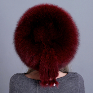 Image 5 - Bonnet de fourrure en renard véritable