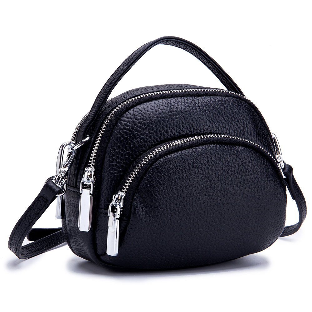 Luxury Handbags Women Bags Designer Genuine Cowhide Leather Lady Shell Shoulder Crossbody Bag Girl Famous Brand