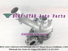 Turbo BV45 14411-5X01A 14411-5X01B 210 182 337 53039880210 53039880182 53039880337 For Nissan Navara Pathfinder YD25DDTI 2.5L 10