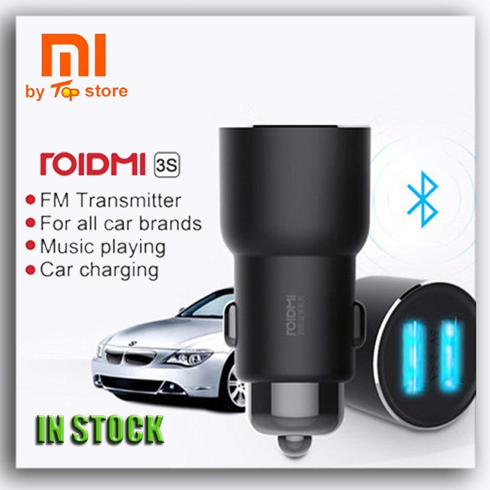 ROIDMI3S Xiaomi Bluetooth Zubehör FM-Transmitter Lautsprecher Spannungswandler dual Usb Car Charger Audio Mp3-player Autoradio