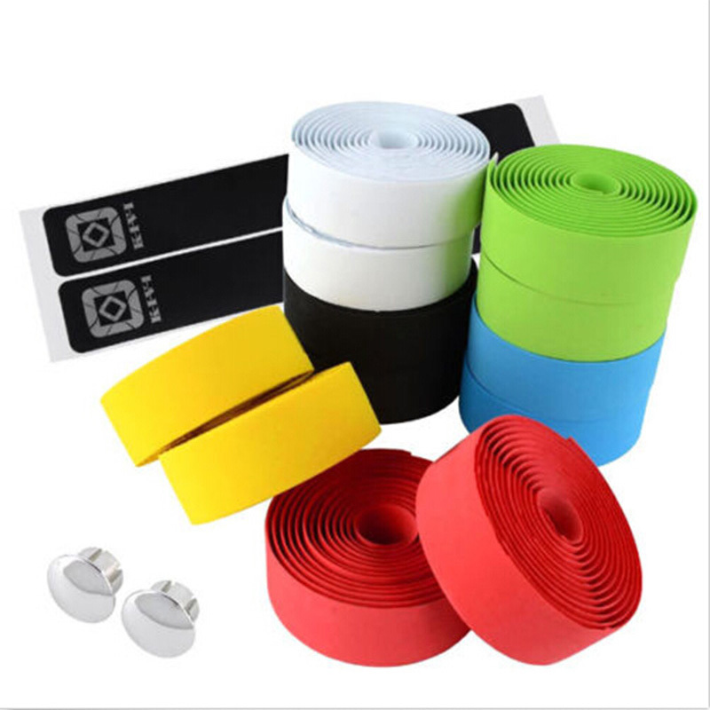 2x Bicycle Handlebar Drop Bar Tape Wrap Cork Road Bike Cycling Handlebar Tape