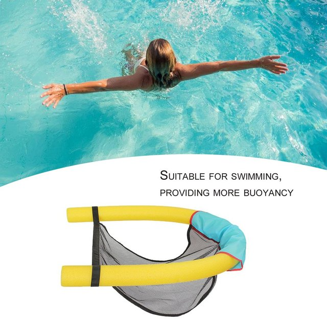 7.5*160cm Innovative Pool Floating Chair Floating Noodle Chair Universal  Swimming Pool Seats Super Buoyancy