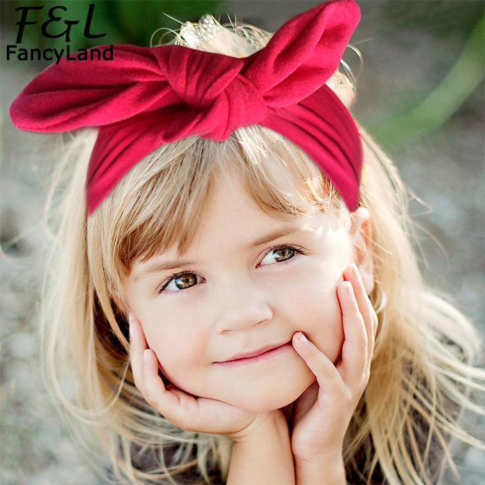Accessories Twist Bow Headbands Elastic Head Wrap Support Hair Ladies
