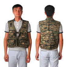 Fishing 2016 New Mens Jacket Sleeveless veste Spring And Summer Fishing And Photography Mesh Men's Vest Waistcoat