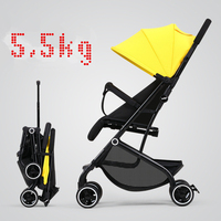 2019 Baby Stroller 3 in 1 neonatal carriage can sit lie sultra light baby car portable on the airplane baby cart poussette