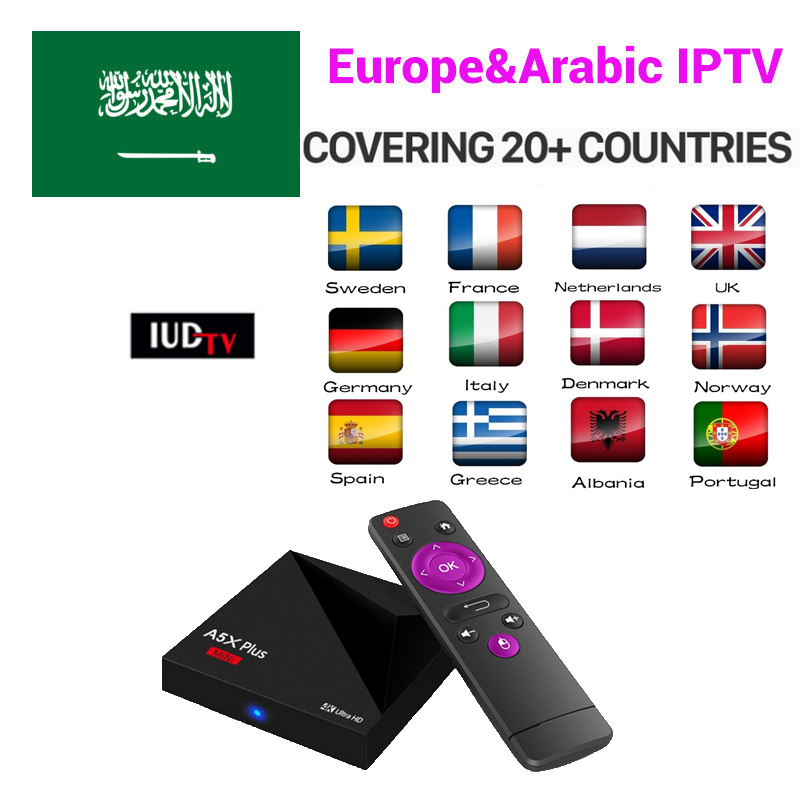Ipremium Migo Android Smart TV Box with Albania Albanian Tring Sport