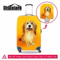 Dispalang new fashion travel on road luggage cover pet dog prints 18-30 inch suitcase protective dust cover travel accessories
