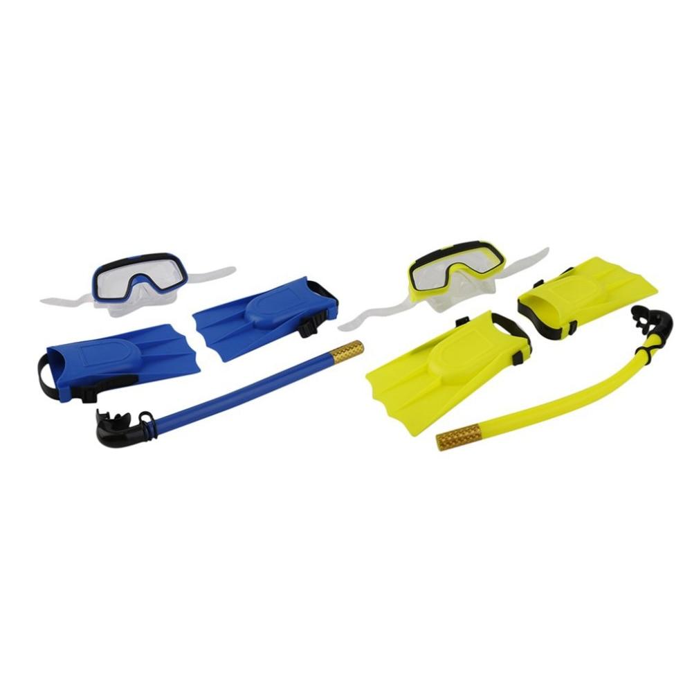 1Set 스노클링 다이빙 마스크 호흡 튜브 긴 핀 발 지느러미 3pcs 스노클링 세트 수영 훈련 장비 핫 세일