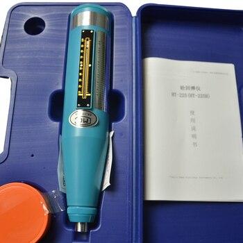 משלוח חינם ציוד בדיקה מבחן בטון HT225B נייד ריבאונד מבחן גבוה פולימר חומר מעטפת Resiliometer-בציוד בדיקה מתוך כלים באתר