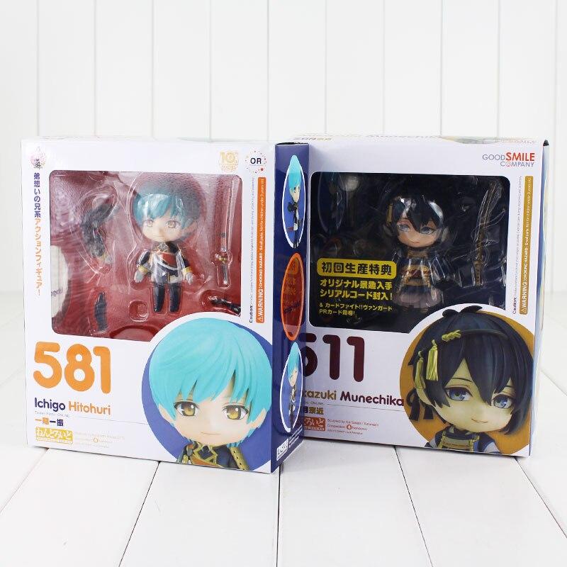 Nendorid Game Touken Ranbu Online Figure Toy 511 Mikazuki Munechika 581 Ichigo Hitofuri Model Dolls