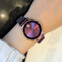 Top Brand Luxury Women Watch Magnet Buckle Dress Watches Rose Gold Stainless Steel Quartz Woman reloj mujer