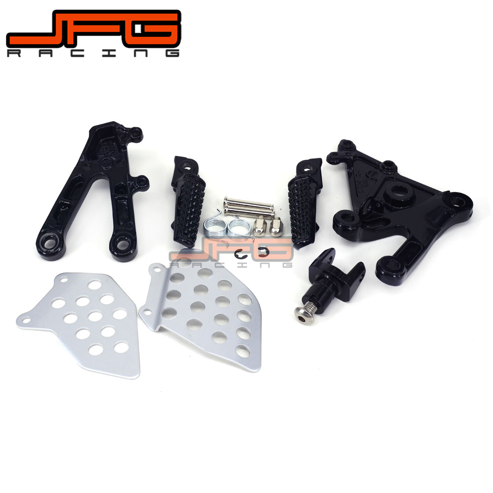 Footrests Front Foot Pegs Pedals Rest Footpegs For HONDA CBR600RR CBR 600 RR 2003 2006 2003