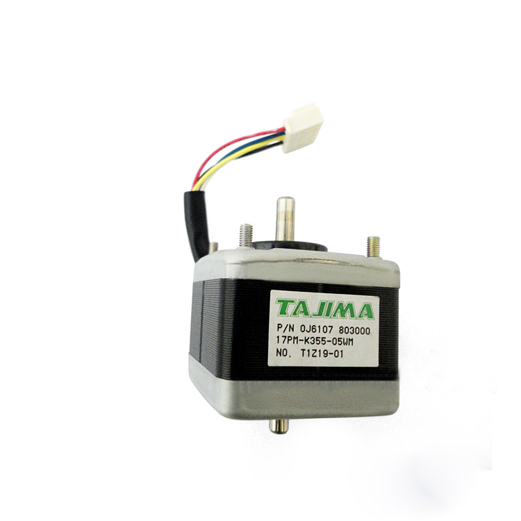 Pulse Motor :42mm Square :Double End 0J6107803000 for computer embroidery machine dedicated accessories Tajima