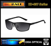 RX Eyewear Customized Optical Sunglasses HMC Polarized Ophthalmic Lenses EXIA OPTICAL KD-337 Series