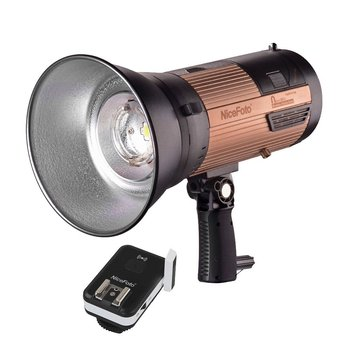 NiceFoto N-Flash 280A Portable Wireless LED Studio Flash Light with Build-in Battery & 2.4GHz Transmitter for DSLR Camera