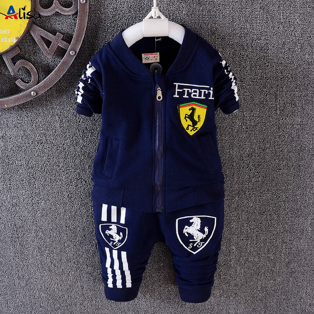 Baby Boy Girl Clothing Set For Toddler Boys Clothes Tracksuits Kids Sport Suit Set Casual Cardigan Coats/Sweatshirts+Pants 2PCS