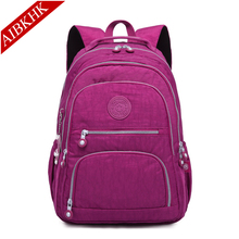 High Quality Nylon Women Backpack Backpacks for Teenage Girls Female Bagpack Travel mochila