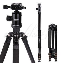 omei Z688 Aluminum Professional Tripod Monopod + Ball Head For DSLR camera Portable / camera stand