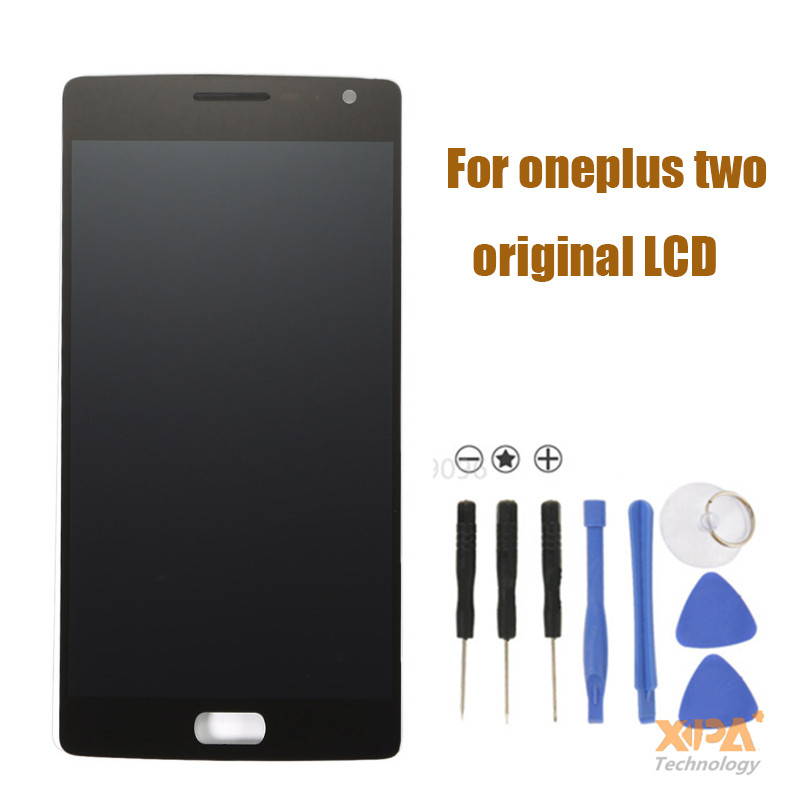 Oneplus Two LCD Display + Touch Screen 100% Good Digitizer Assembly Replacement Accessories For One Plus 2 Mobile Phone