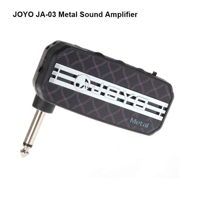 все цены на free shipping Joyo JA-03 Metal Sound Mini Guitar Amp Pocket Amplifier Micro Headphone speaker instruments guitarra 3W Amp онлайн