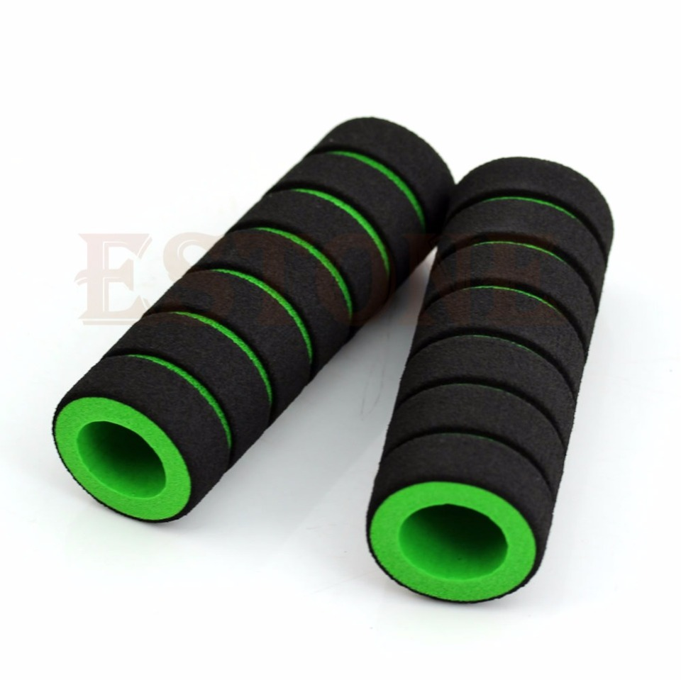 Bike Racing Motorcycle Handle Bar Foam Non-slip Sponge Grip Covers Tool FW