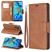 Soft Lambskin PU Leather Case for Huawei PSMART Z/ P10 Lite/