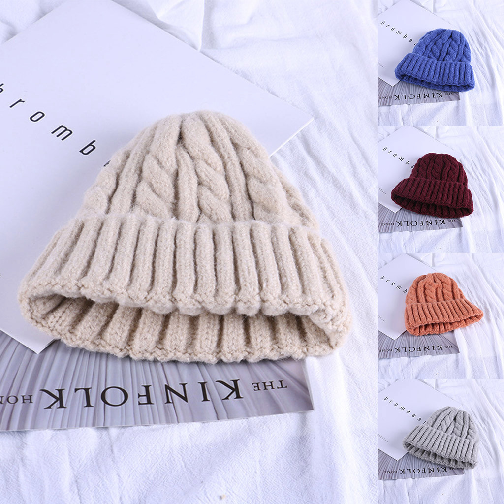 New Fashion Design Womens Winter Warm Candy Colors Knitted Sleeve ... 966ac893d67