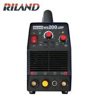 RILAND WS200P ARC TIG Pulse TIG Welding Machine Multi Function Portable Inverter TIG Welder Argon welding