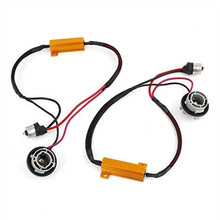 Xyivyg 50 Вт 6ohm 1156 BA15S P21W 7506 нагрузочного резистора для LED поворотов Свет Тормозная лампы Hyper flash Предупреждение cancellor декодер