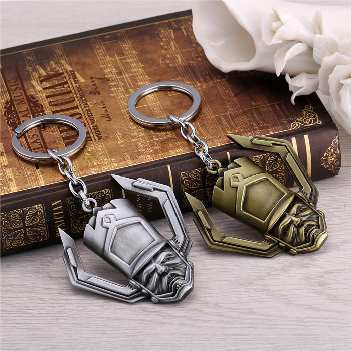 New Design 2 colors mask logo keychain Guardians of the Galaxy Key holder For Mans Boys Women