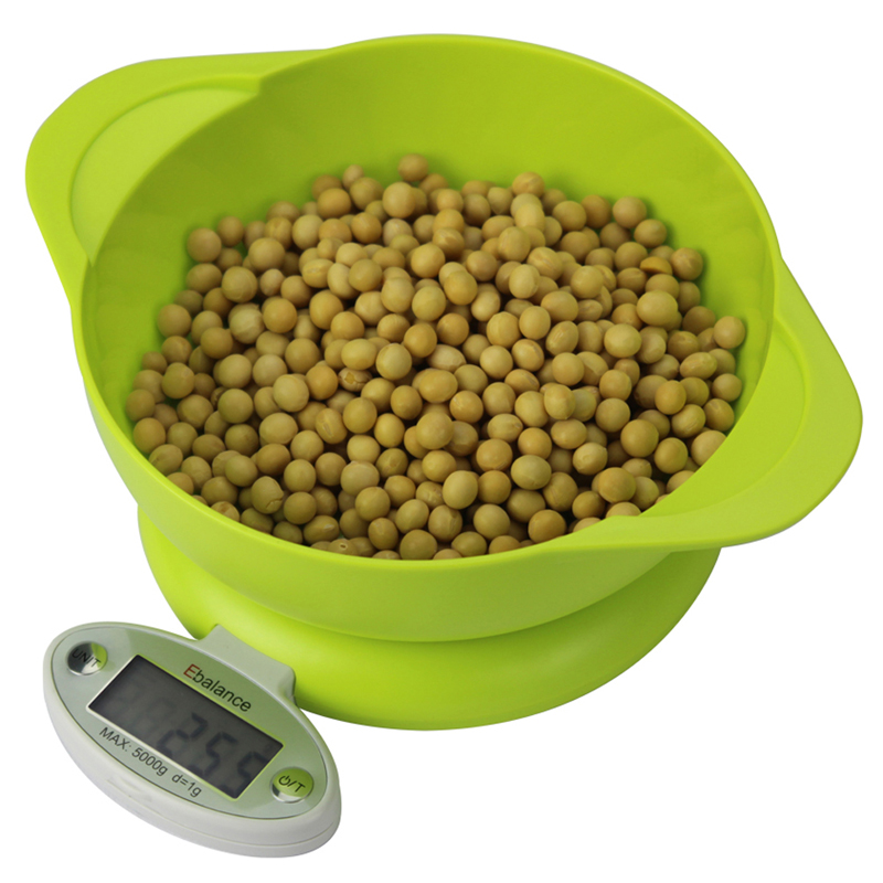 3 types Practical 5KG/1g LCD Display Digital Scale Electronic Kitchen Food Diet Postal Scale Weight Tool with Tray
