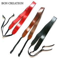 BON CREATION Universal Retro Shoulder Belt PU Leather Camera Strap Neck Photo Strap For Canon Nikon Sony Pentax Leica Olympus