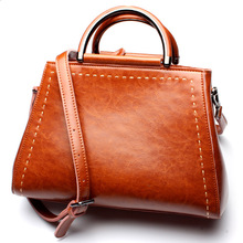 Genuine leather bag ladies New 2017 shoulder bag famous brand women messenger bags for women handbag bolsas designer