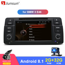 Junsun IPS Car DVD Android 8.1 GPS Multimedia Player for BMW 3 Series E46 M3 Rover RAM 2G WIFI RDS FM Radio Mirror Link(China)