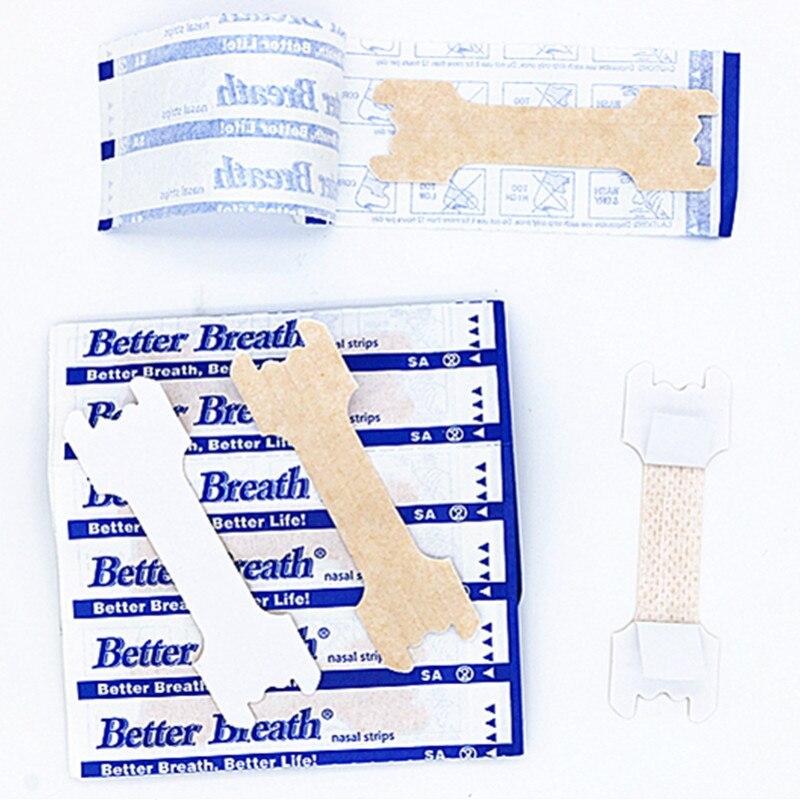 200 шт/партия(55x16 мм) лучше дышат анти пластыри против храпа стоп храп носовые полоски уменьшить храп дышать правильно легче уход за сном